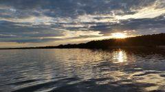 Sunset am Steinhuder Meer
