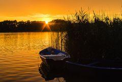Sunset am Westensee