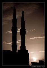 Sunset and Minarets