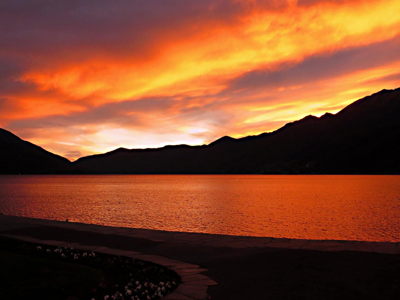 Sunset - Ascona (Lago Maggiore)