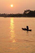 Sunset at Ampawa 1