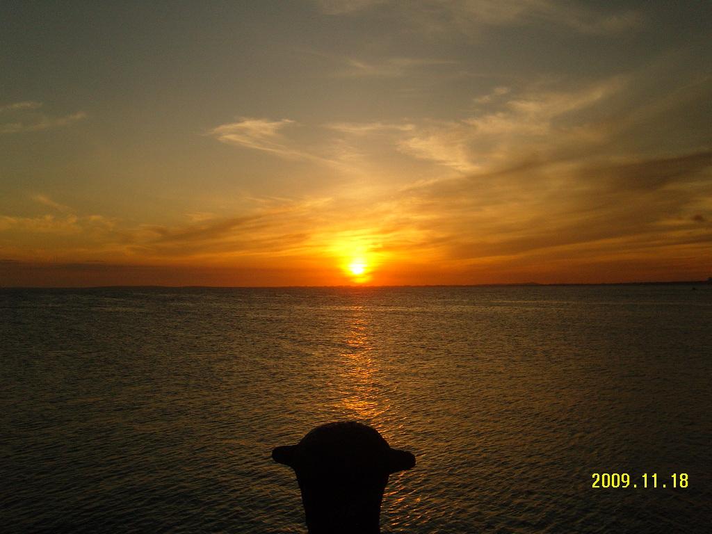 Sunset at Bahia del Morro, Isla Margarita