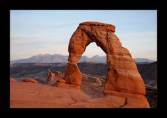 [ Sunset at Delicate Arch ]