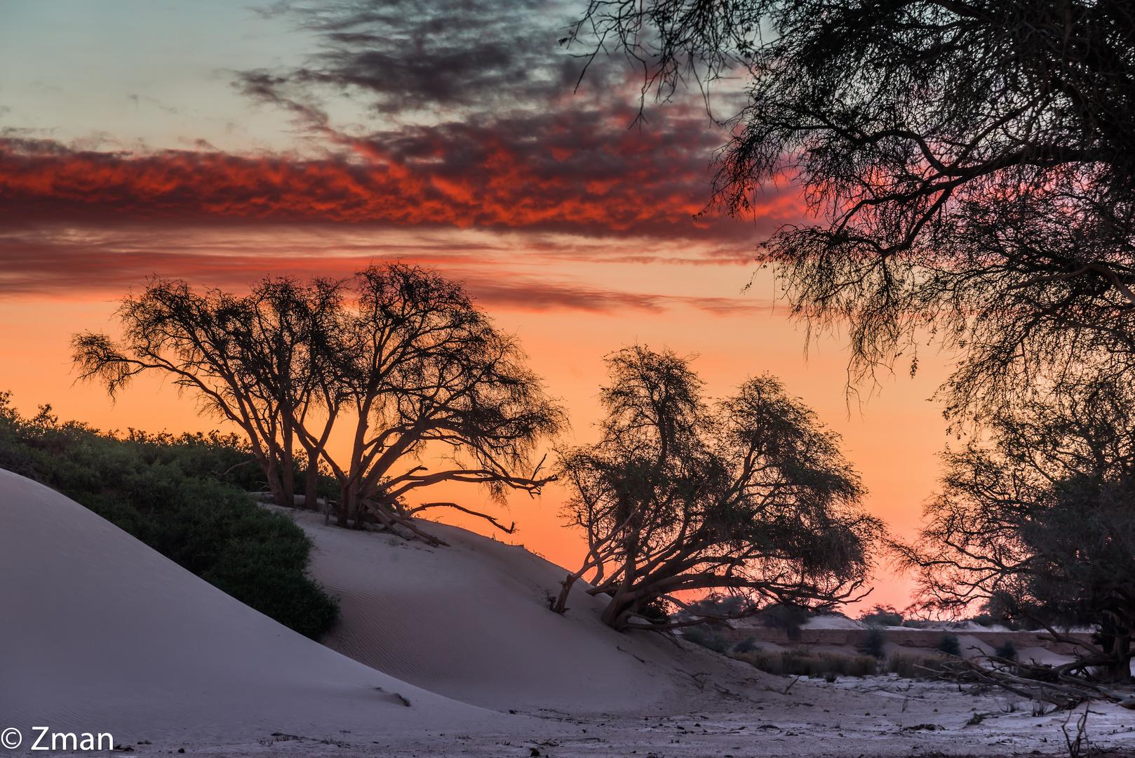 Sunset at Hoanib Basin 02