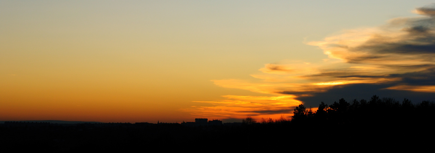 Sunset at ladronka 1