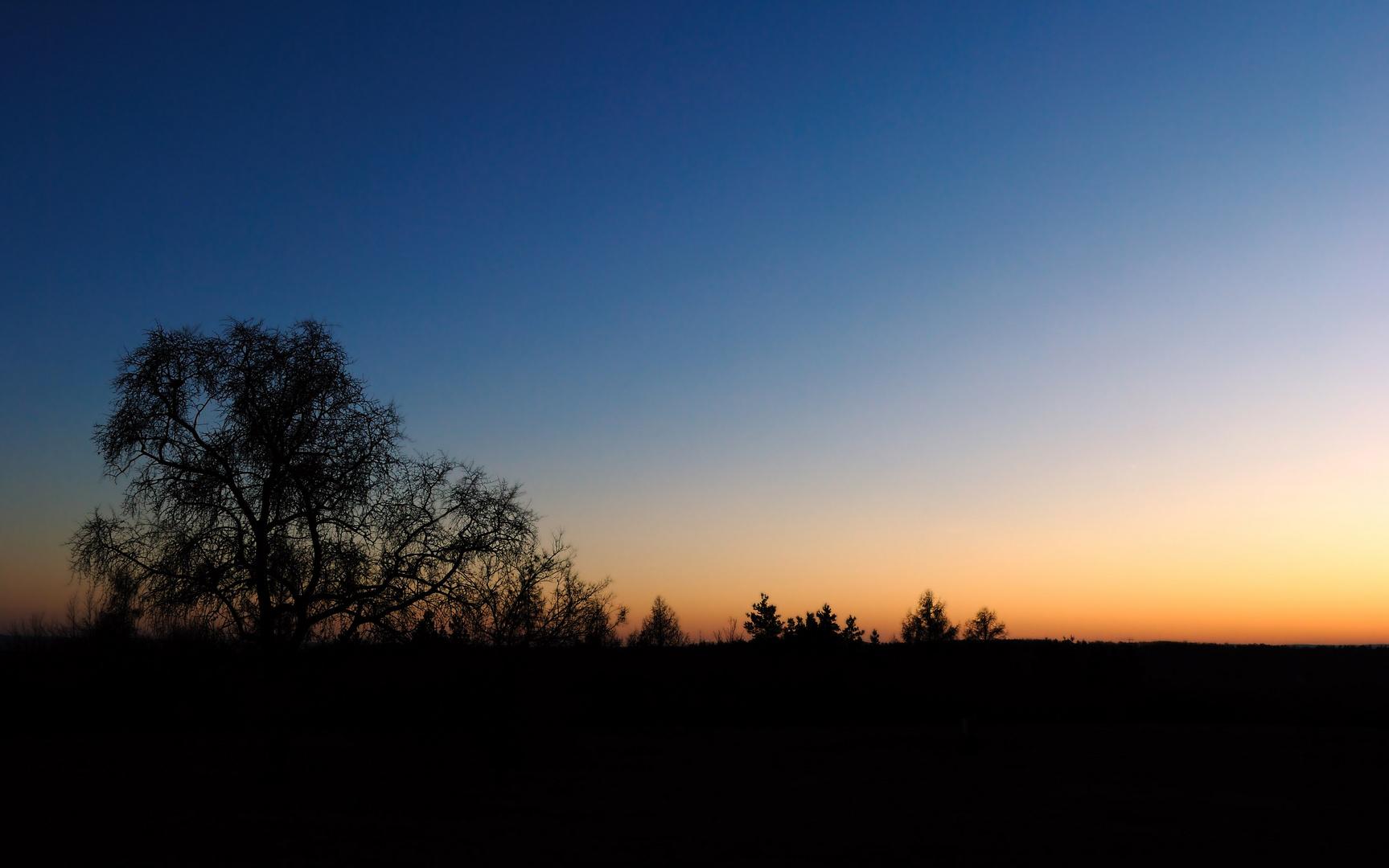 Sunset at ladronka