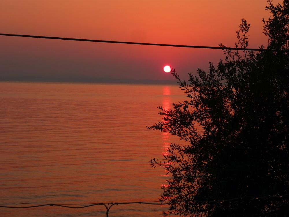 Sunset at Leonidion Greece