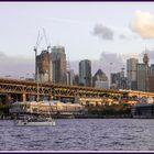 Sunset at Miller's Point, Sydney