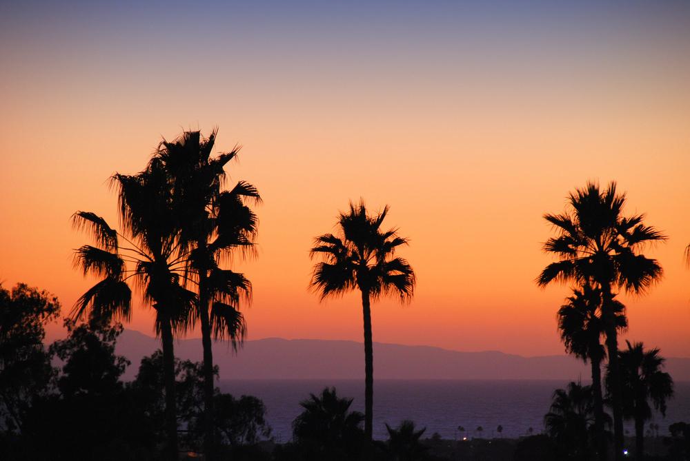 Sunset at Newport