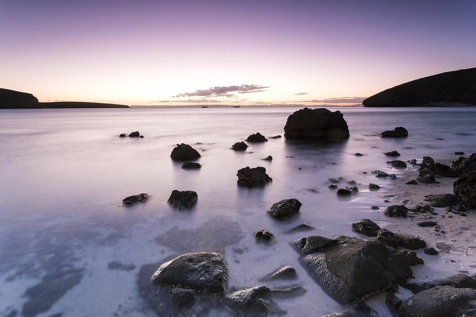 Sunset at Playa Balandra