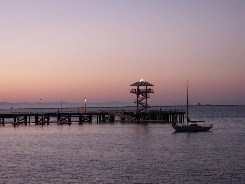 Sunset at Port Angeles