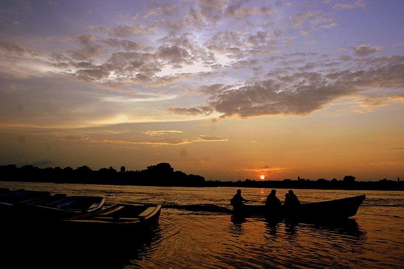 Sunset at Ravi