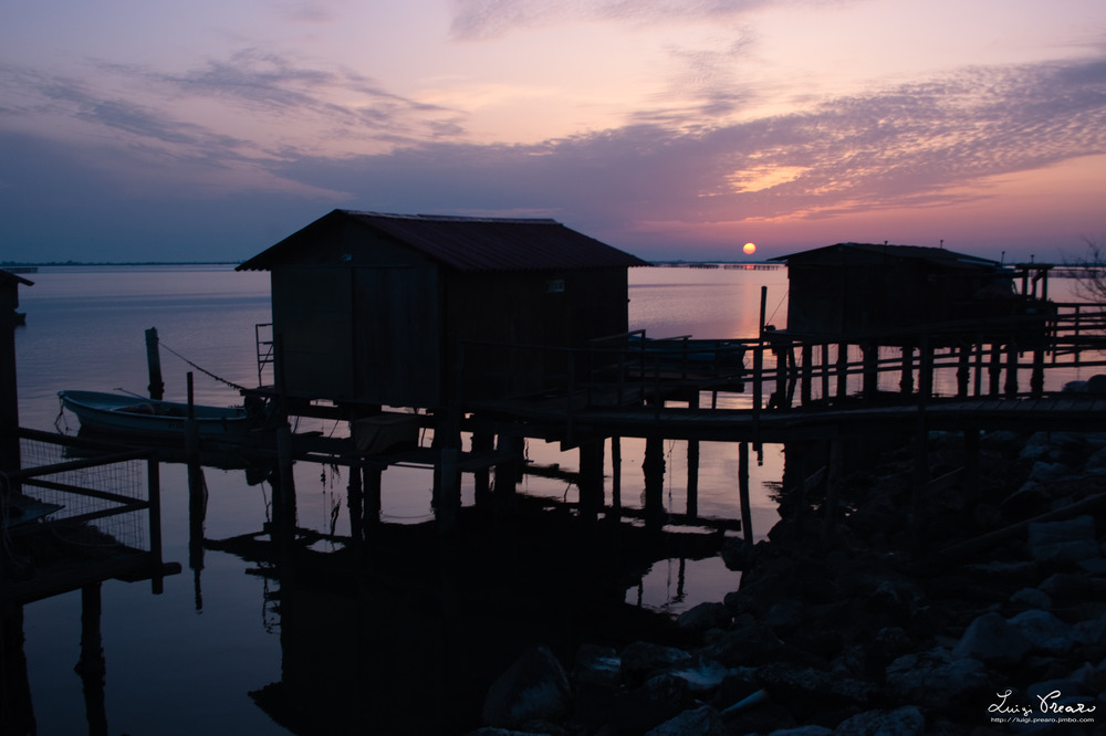Sunset at Scardovari