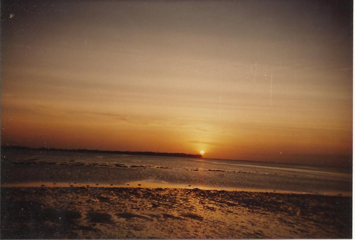 Sunset at Selayar Islands
