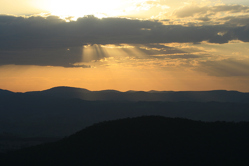 Sunset at the Blue Mountains II
