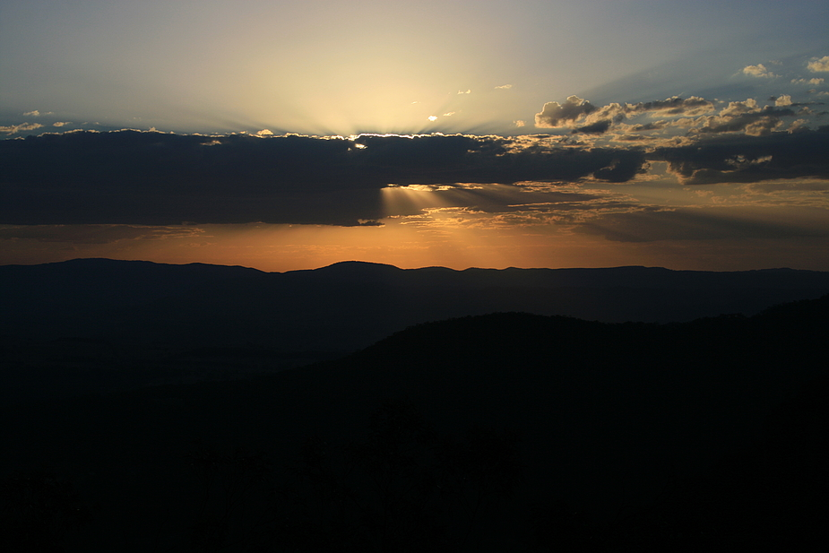 Sunset at the Blue Mountains III