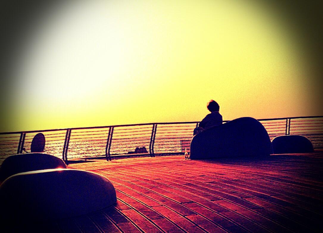 Sunset at the Gorden Beach
