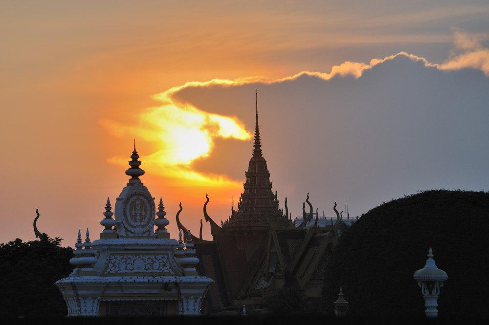 Sunset at the Royal Palace 1