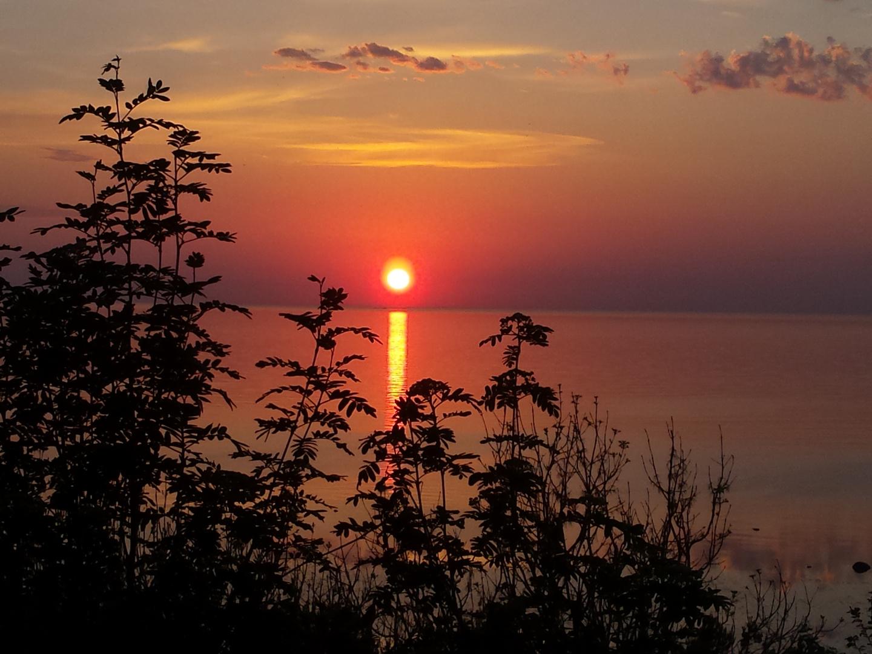Sunset at Türisalu, Harju County, Estonia