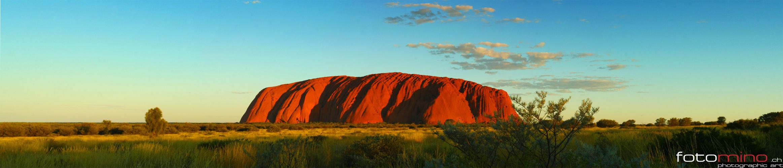 Sunset at Uluru