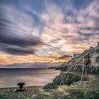 Sunset au Cap de Nice