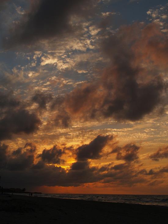 Sunset auf Kuba - November 2006
