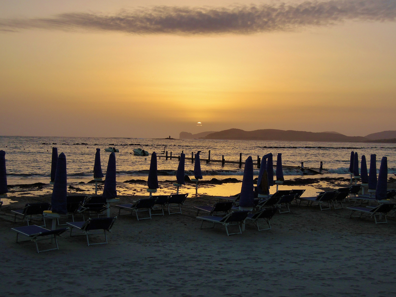sunset beach (lido Alghero)