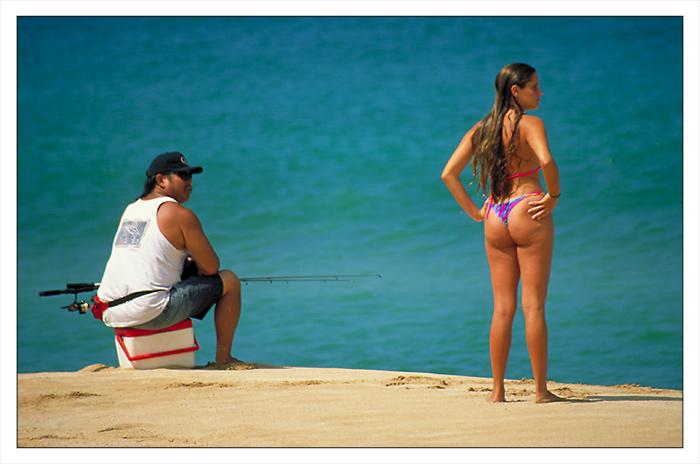 Sunset Beach Oahu/Hawaii