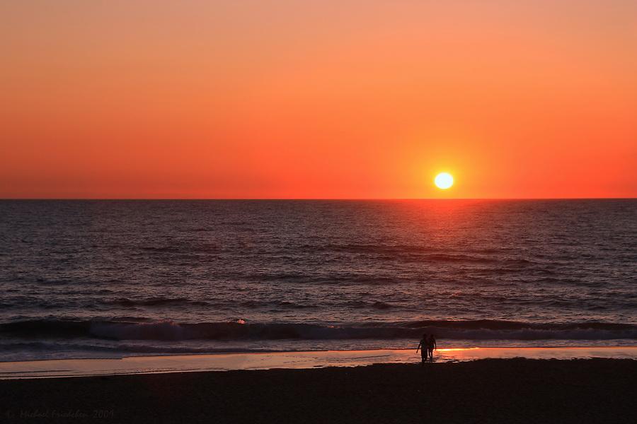 Sunset Biscarrosse