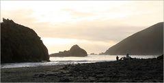 sunset Bucht Pazifik USA