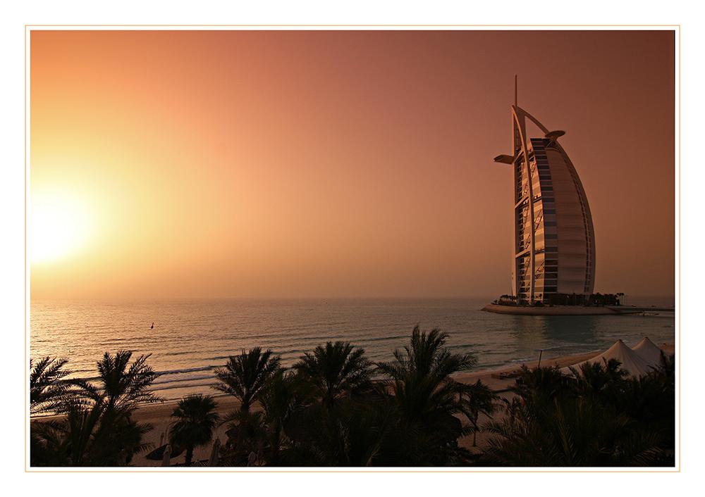 Sunset @ Burj al Arab