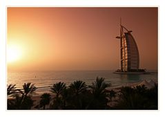 Sunset @ Burj al Arab