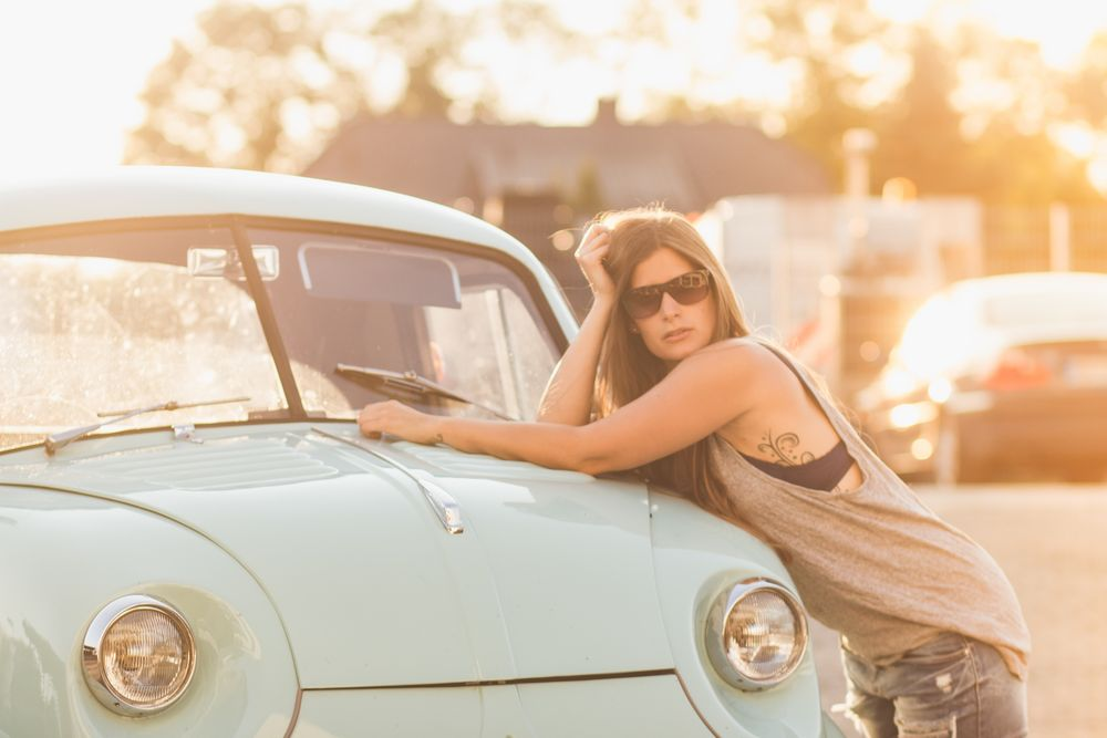 Sunset Car