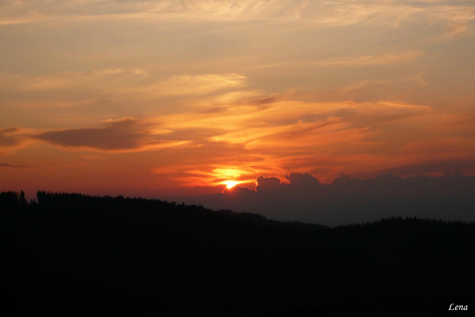 ...sunset