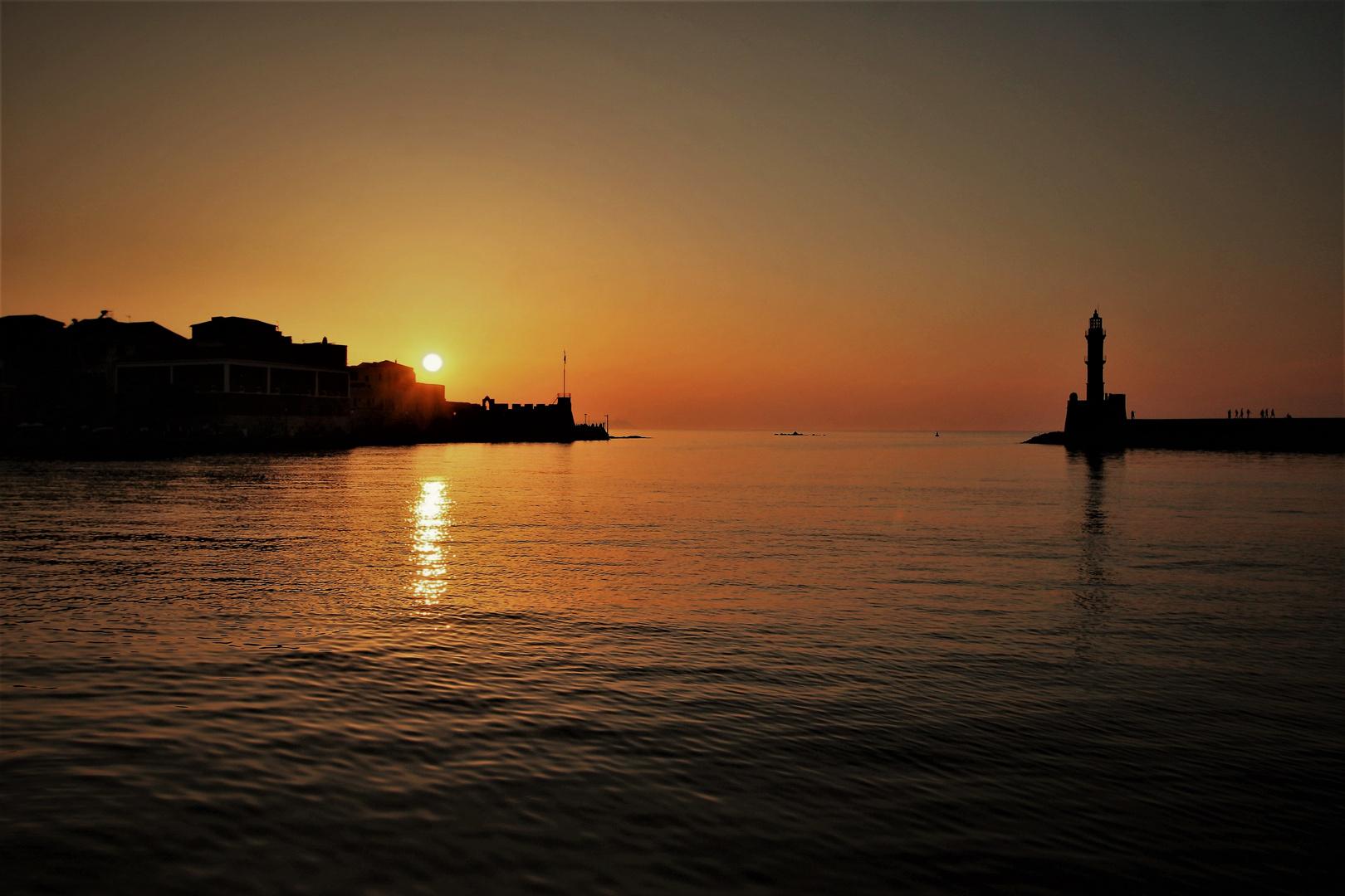 Sunset Chania