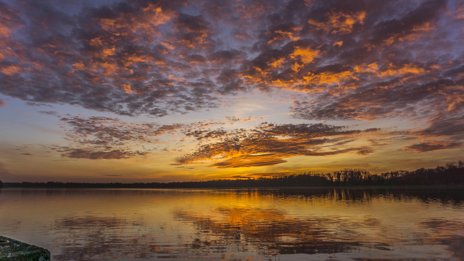 Sunset Donau