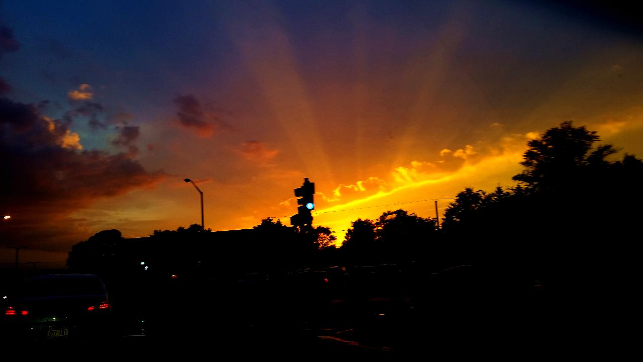 Sunset from Beloit Road