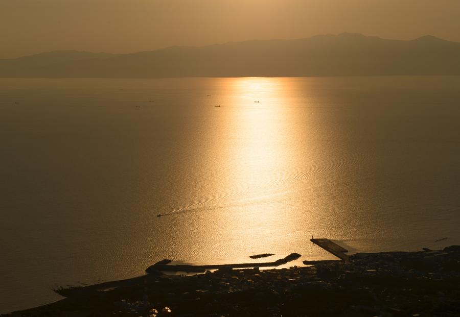 Sunset from Oshima