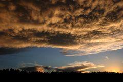 sunset @ Grand Canyon, south Rim