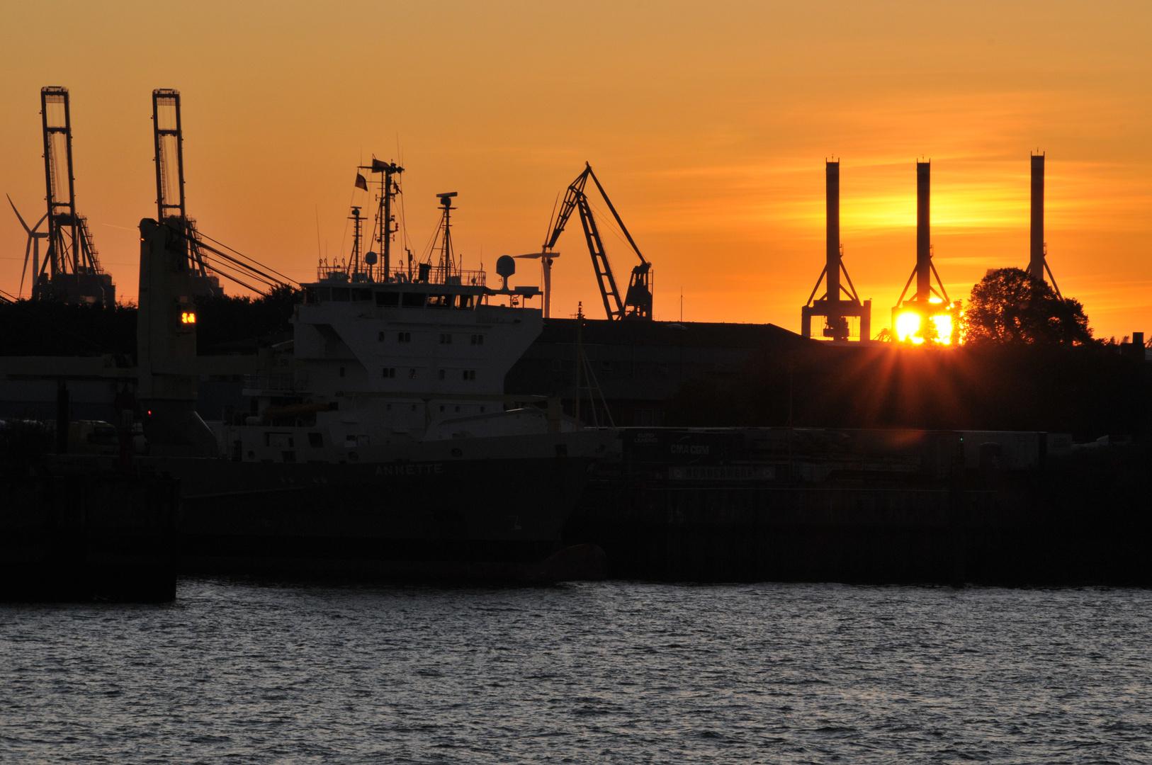 Sunset Hamburg 1