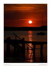 Sunset Herrsching
