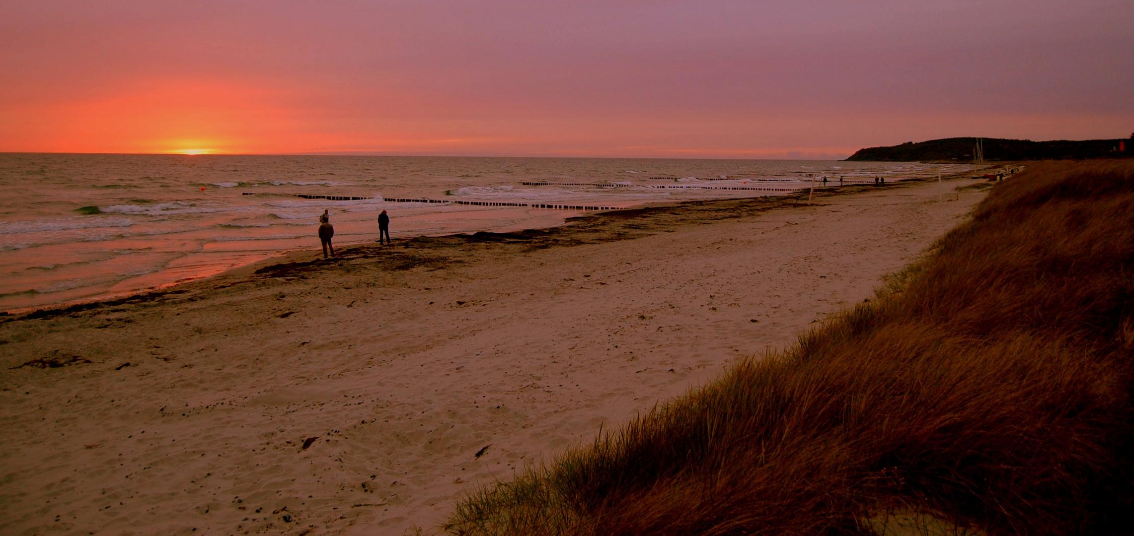 Sunset Hiddensee