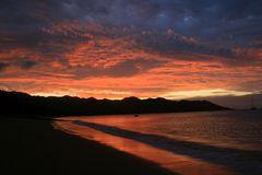 Sunset Horseshore Bay