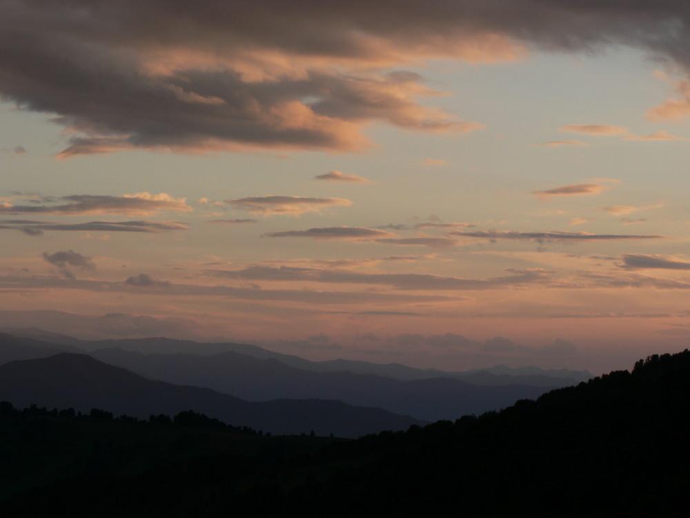 sunset in Altaj