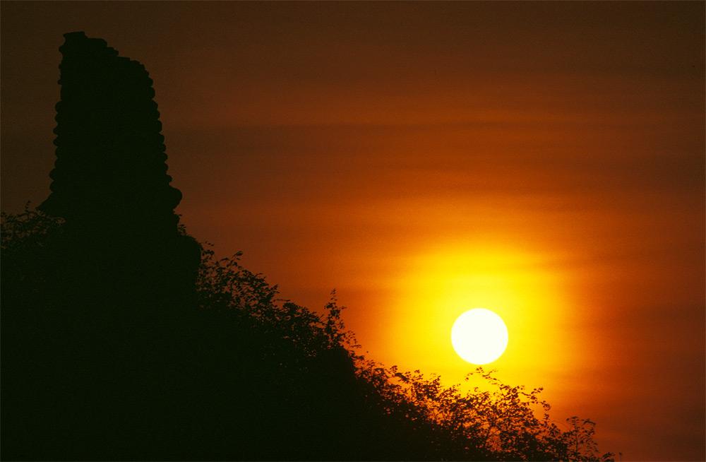 Sunset in Ayutaya II