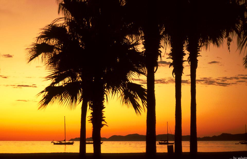 Sunset in Baja (Edelkitschversion)