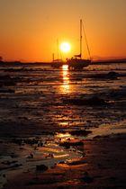 Sunset in Blackness, Scotland