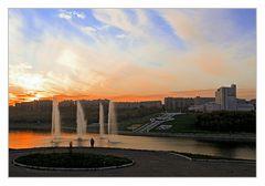 Sunset in Cheboksary