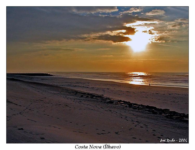 Sunset in Costa Nova