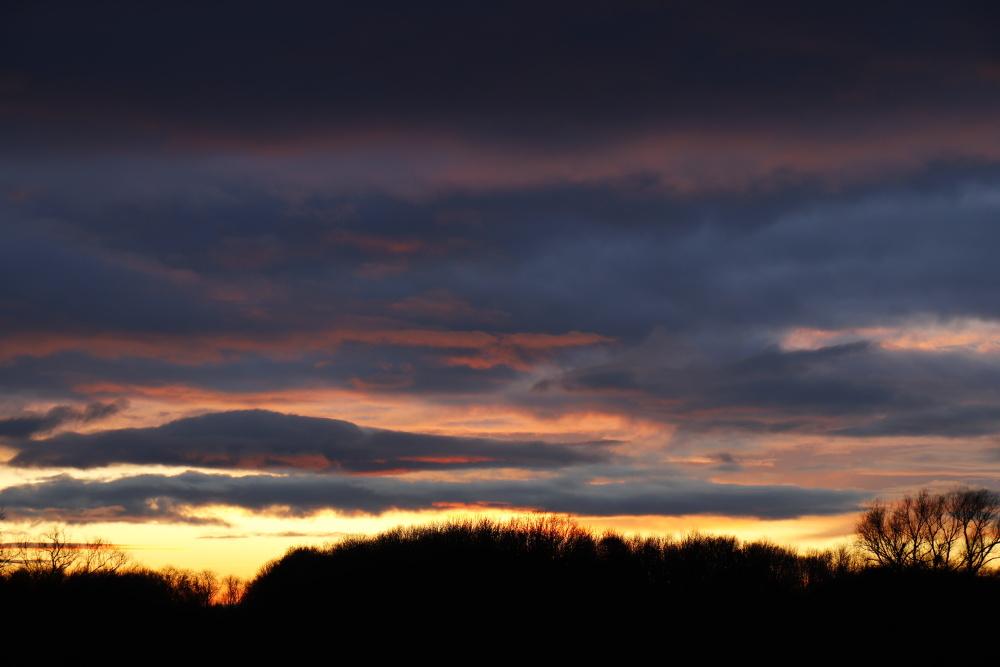 Sunset in Dessau - version 2